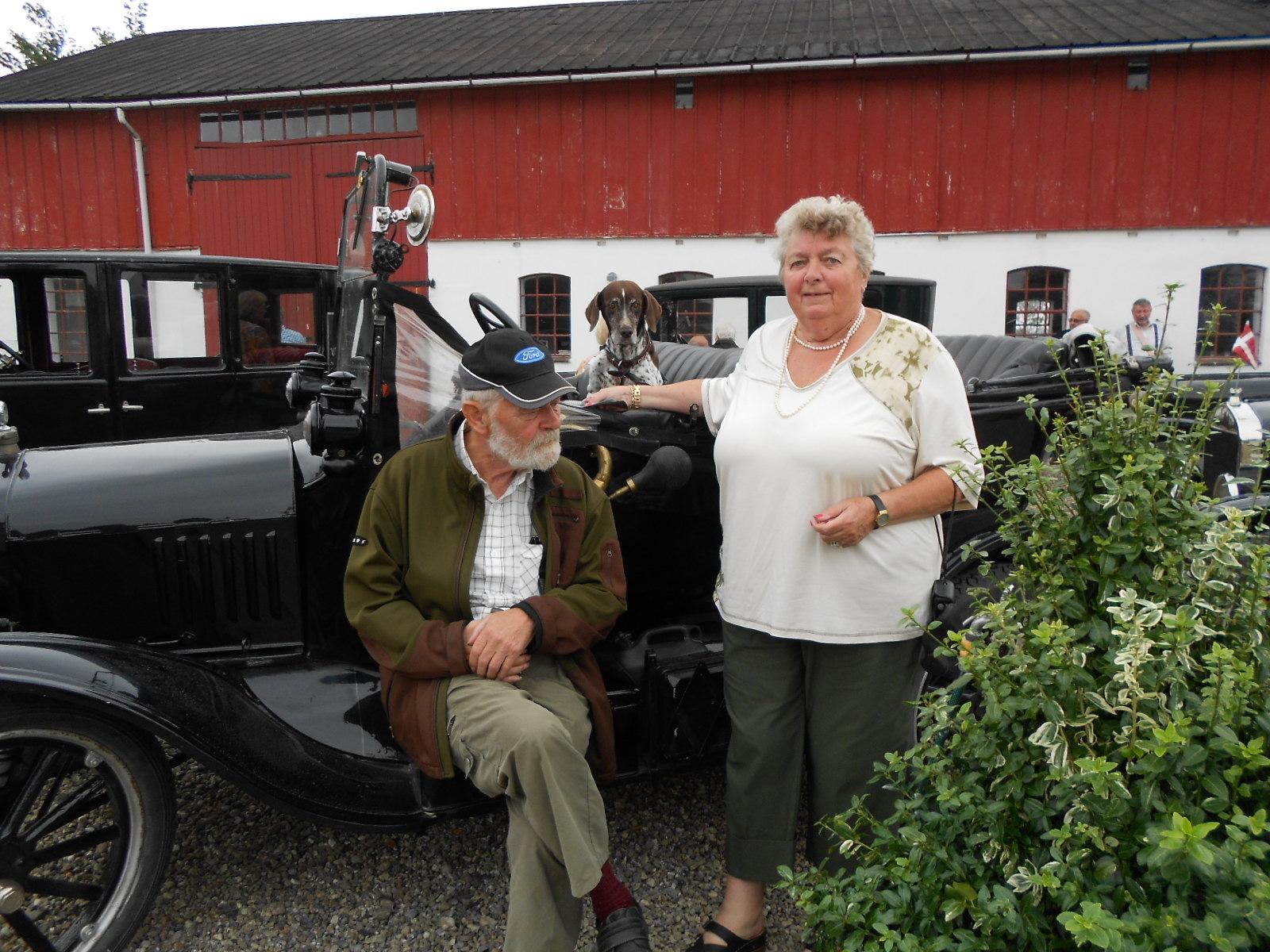 Jacob Christiansen og Elin Grønning