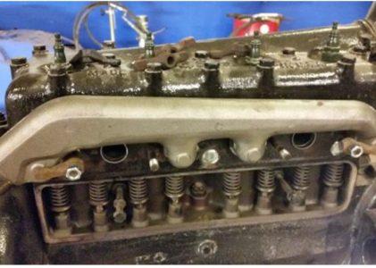 Ford T Udskiftning af manifold